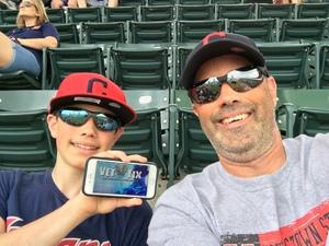 Tony attended Cleveland Indians vs. Kansas City Royals - MLB on May 28th 2017 via VetTix