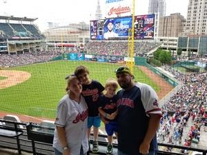 Joseph attended Cleveland Indians vs. Kansas City Royals - MLB on May 28th 2017 via VetTix