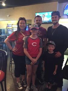 Max attended Cincinnati Reds vs. Milwaukee Brewers - MLB on Apr 15th 2017 via VetTix