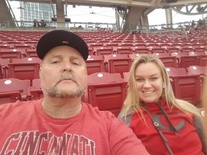 Gordon attended Cincinnati Reds vs. Baltimore Orioles - MLB on Apr 20th 2017 via VetTix