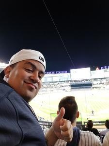 Abraham attended New York Yankees vs. Toronto Blue Jays - MLB on May 3rd 2017 via VetTix
