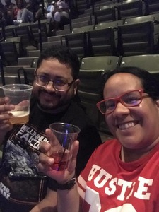Paola Santiago Ortiz attended Chris Brown the Party Tour With Fabolous, O.t Genasis and Kap G on Apr 20th 2017 via VetTix