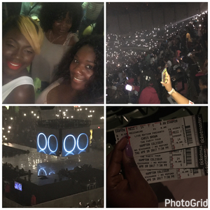 Brandy attended Chris Brown the Party Tour With Fabolous, O.t Genasis and Kap G on Apr 20th 2017 via VetTix