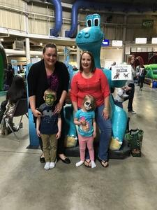 Jenna attended Discover the Dinosaurs - Unleashed on Apr 22nd 2017 via VetTix