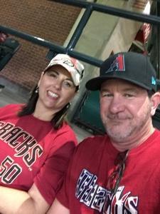 John attended Arizona Diamondbacks vs. Los Angeles Dodgers - MLB on Apr 22nd 2017 via VetTix