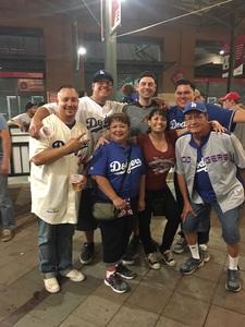 Christian attended Arizona Diamondbacks vs. Los Angeles Dodgers - MLB on Apr 22nd 2017 via VetTix
