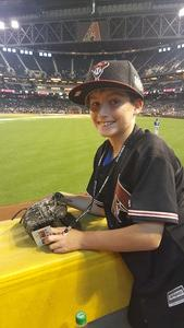 Gary attended Arizona Diamondbacks vs. Los Angeles Dodgers - MLB on Apr 22nd 2017 via VetTix