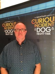 Gary attended The Curious Incident of the Dog in the Night-time - ASU Gammage on Jun 22nd 2017 via VetTix