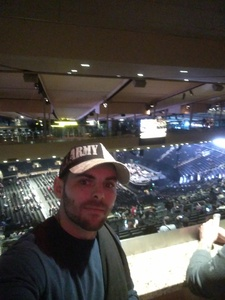 PV2 Hayes attended Bon Jovi - This House Is Not for Sale Tour on Apr 15th 2017 via VetTix