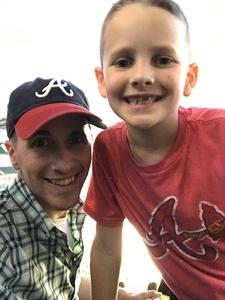 Nathan attended Atlanta Braves vs. Toronto Blue Jays - MLB on May 18th 2017 via VetTix