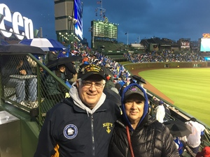Philip attended Chicago Cubs vs. Philadelphia Phillies - MLB - Military Appreciation Night on May 1st 2017 via VetTix