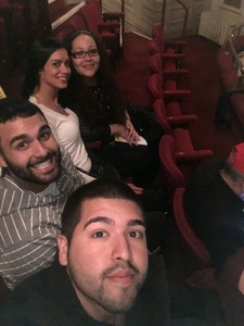Luis attended Indecent on Apr 19th 2017 via VetTix