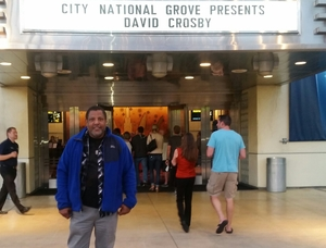 Walter attended An Evening With David Crosby and Friends on Apr 18th 2017 via VetTix