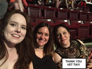 Colleen attended Red Hot Chili Peppers on Apr 19th 2017 via VetTix
