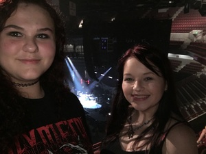 Laura and Sarah attended Red Hot Chili Peppers on Apr 19th 2017 via VetTix