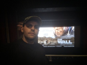 PV2 Hayes attended The Wall - World Premier With John Cena and Aaron Taylor - Johnson on Apr 27th 2017 via VetTix