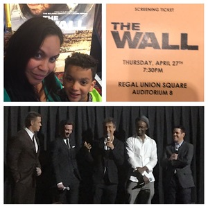 Kathleen attended The Wall - World Premier With John Cena and Aaron Taylor - Johnson on Apr 27th 2017 via VetTix
