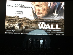 Manuel attended The Wall - World Premier With John Cena and Aaron Taylor - Johnson on Apr 27th 2017 via VetTix