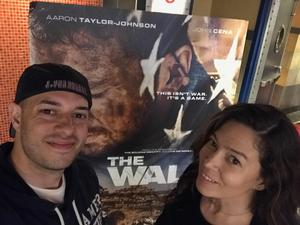 Alba attended The Wall - World Premier With John Cena and Aaron Taylor - Johnson on Apr 27th 2017 via VetTix