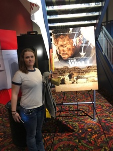 Jami attended The Wall - World Premier With John Cena and Aaron Taylor - Johnson on Apr 27th 2017 via VetTix