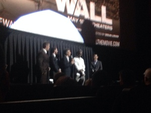 Roger attended The Wall - World Premier With John Cena and Aaron Taylor - Johnson on Apr 27th 2017 via VetTix