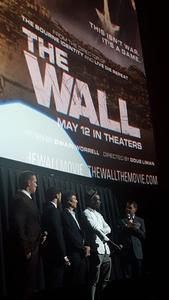 Miguel attended The Wall - World Premier With John Cena and Aaron Taylor - Johnson on Apr 27th 2017 via VetTix