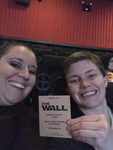 Kyla attended The Wall - World Premier With John Cena and Aaron Taylor - Johnson on Apr 27th 2017 via VetTix