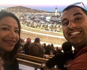 Martin attended Desert Diamond West Valley Phoenix Grand Prix - Indycar Series on Apr 29th 2017 via VetTix