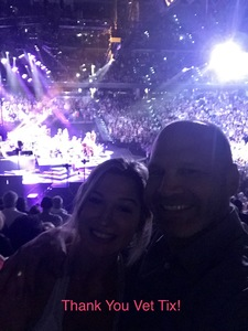 Christopher attended Neil Diamond - the 50 Year Anniversary World Tour on Apr 23rd 2017 via VetTix