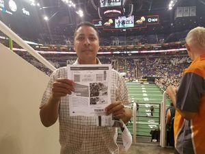Ian attended Arizona Rattlers vs. Green Bay Blizzard - IFL on Apr 29th 2017 via VetTix