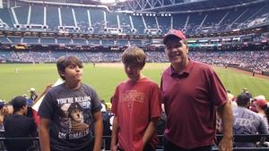 Jim attended Arizona Diamondbacks vs. San Diego Padres - MLB on Apr 24th 2017 via VetTix