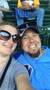 David attended Milwaukee Brewers vs. Pittsburgh Pirates - MLB on Jun 21st 2017 via VetTix