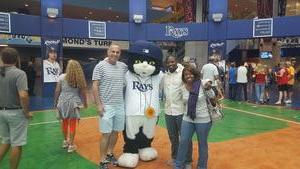 Desheun attended Tampa Bay Rays vs. Kansas City Royals - MLB on May 9th 2017 via VetTix