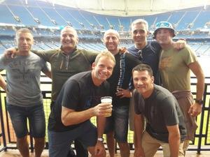 Gennaro attended Tampa Bay Rays vs. Kansas City Royals - MLB on May 9th 2017 via VetTix