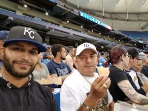 Angel attended Tampa Bay Rays vs. Kansas City Royals - MLB on May 9th 2017 via VetTix