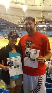 Jason attended Tampa Bay Rays vs. Kansas City Royals - MLB on May 9th 2017 via VetTix