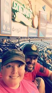 James attended Tampa Bay Rays vs. Kansas City Royals - MLB on May 9th 2017 via VetTix