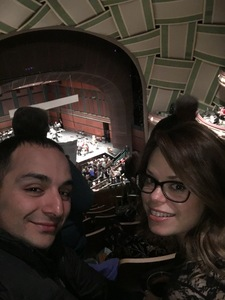 Alborz attended Alpine Symphony - Presented by the Eugene Symphony on May 11th 2017 via VetTix