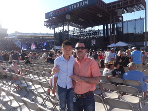 AMADEO attended Bud Light's Off the Rails Music Festival - Tickets Good for Sunday Only on May 7th 2017 via VetTix