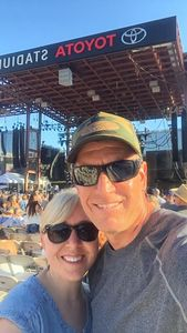 Chris and Larci attended Bud Light's Off the Rails Music Festival - Tickets Good for Sunday Only on May 7th 2017 via VetTix
