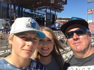 Daniel attended Bud Light's Off the Rails Music Festival - Tickets Good for Sunday Only on May 7th 2017 via VetTix