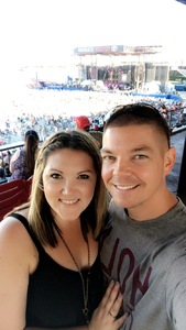 Christopher attended Bud Light's Off the Rails Music Festival - Tickets Good for Sunday Only on May 7th 2017 via VetTix