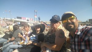Chris attended Bud Light's Off the Rails Music Festival - Tickets Good for Sunday Only on May 7th 2017 via VetTix