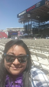 catarina attended Bud Light's Off the Rails Music Festival - Tickets Good for Sunday Only on May 7th 2017 via VetTix