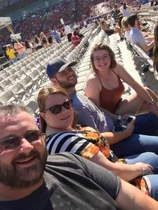 Paul attended Bud Light's Off the Rails Music Festival - Tickets Good for Sunday Only on May 7th 2017 via VetTix