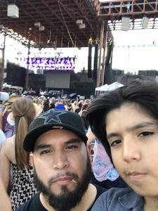 Frankie attended Bud Light's Off the Rails Music Festival - Tickets Good for Sunday Only on May 7th 2017 via VetTix