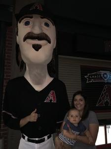 Jessica attended Arizona Diamondbacks vs. Philadelphia Phillies - MLB on Jun 23rd 2017 via VetTix
