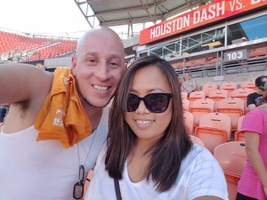 Michael attended Houston Dash vs. Sky Blue FC - National Womens Soccer League on May 13th 2017 via VetTix