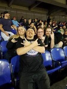 Craig Laliberte attended Metallica Worldwired Tour With Special Guest Avenged Sevenfold With Volbeat on May 10th 2017 via VetTix