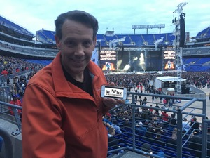Christopher attended Metallica Worldwired Tour With Special Guest Avenged Sevenfold With Volbeat on May 10th 2017 via VetTix